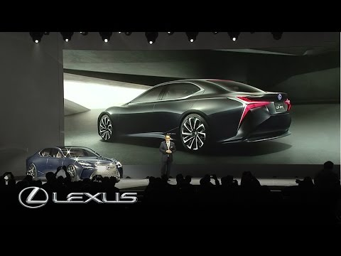 THE ALL-NEW LEXUS LC 500 LAUNCH AT DETROIT MOTOR SHOW 2016