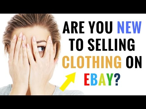 Are You New To Selling Clothing On Ebay? ( Buy These 13 Brands )