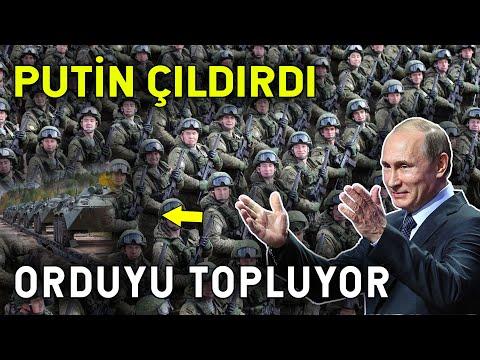 Putin Asker Topluyor! Halkı Orduya Çağırdı