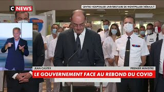 Coronavirus : « La situation s'est dégradée ces derniers jours en France» déclare Jean Castex