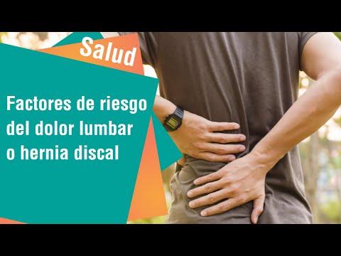 Factores de riesgo del DOLOR LUMBAR o hernia discal   Salud