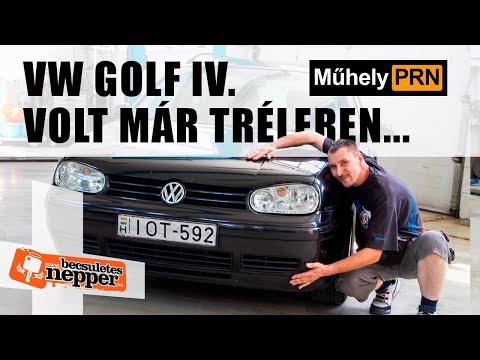 MűhelyPRN 111: Volkswagen Golf IV.