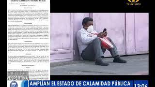 Diario Oficial publica ampliación de 'Estado de Calamidad'