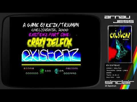 EXISTENZ: CRAZY DELFOX Zx Spectrum by Triumph Game Labs