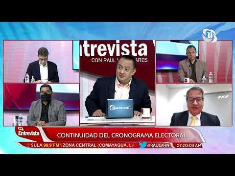 La Entrevista con Raúl Valladares | Continuidad del cronograma electoral