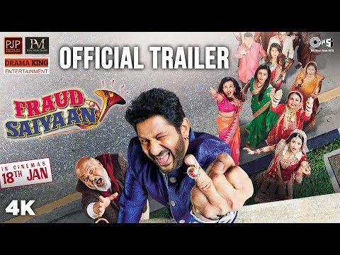 Fraud Saiyaan Official Trailer | Arshad Warsi, Saurabh Shukla, Elli AvrRam, Sara Loren