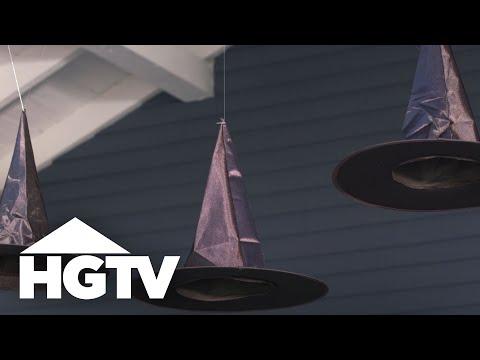 Easy Outdoor Halloween Decor, 3 Ways - HGTV