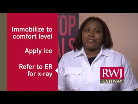 Sprains and Breaks: Emergency Tips from RWJ Rahway