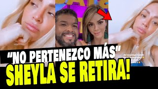 SHEYLA ROJAS ANUNCIÓ SU RETIRO DE LA TELEVISIÓN Y NO REGRESARÁ MÁS