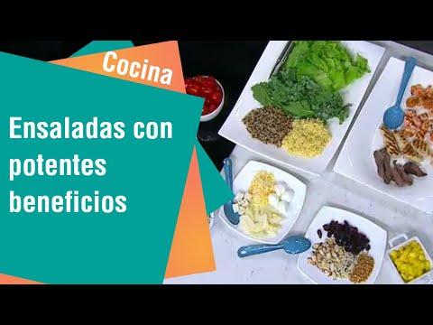Ensaladas estrella con potentes beneficios   Cocina