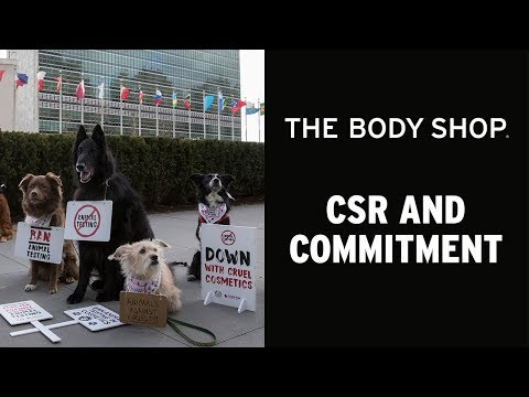 FOREVER AGAINST ANIMAL TESTING DOGUMENTARY – THE BODY SHOP