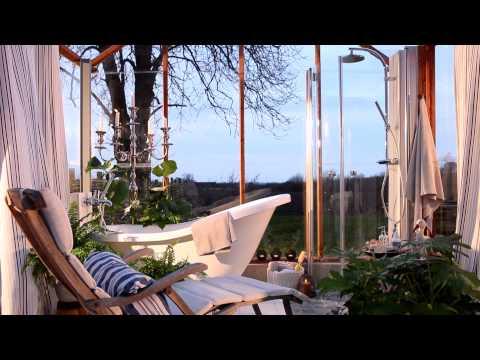 Spa med brusehjørne, vandhane, badekar | INR
