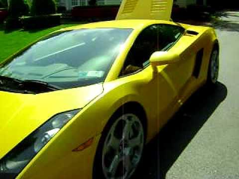 The stunning 2004 Lamborghini Gallardo