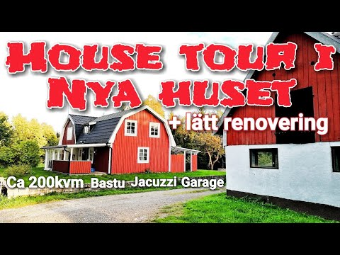 HOUSE TOUR I NYA HUSET + lätt renovering - ROS