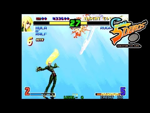 """THE KING OF FIGHTERS 10TH ANNIVERSARY EXTRA PLUS (KOF 2002 HACK) - """"CON 5 DUROS"""" Episodio 769 (1cc)"""