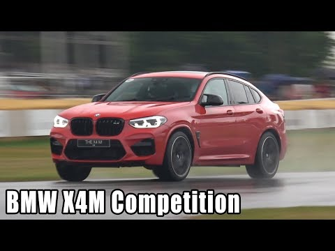 BMW X4M Competition Exhaust Sounds @ FOS Goodwood 2019!