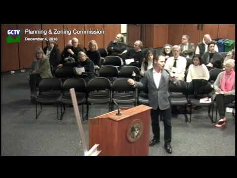 Planning & Zoning Commission, December 4, 2018
