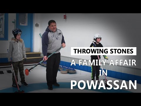 Throwing Stones: A Family Affair in Powassan
