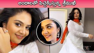 Sreemukhi Cute Beautiful Video   Anchor Sreemukhi   Sreemukhi Photoshoot   Rajshri Telugu - RAJSHRITELUGU