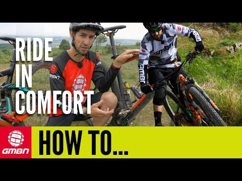 Ride Your Mountain Bike In Comfort