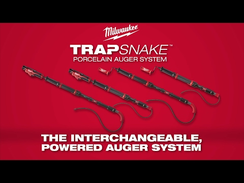 Milwaukee® TRAPSNAKE™ Porcelain Auger System
