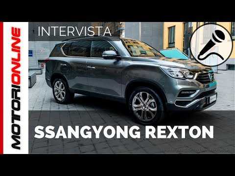 Nuovo SsangYong Sexton MY 2017   Anteprima Italiana – Intervista speciale a Luca Ronconi