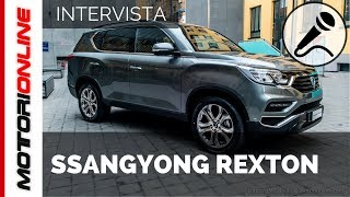Nuovo SsangYong Rexton MY 2017 | Anteprima Italiana – Intervista speciale a Luca Ronconi