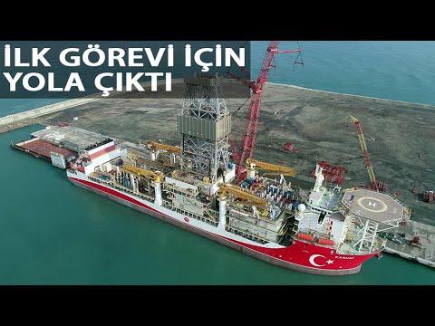 Bakan Dönmez: 'Kanuni' İlk Görevi İçin Karadeniz'e Açıldı