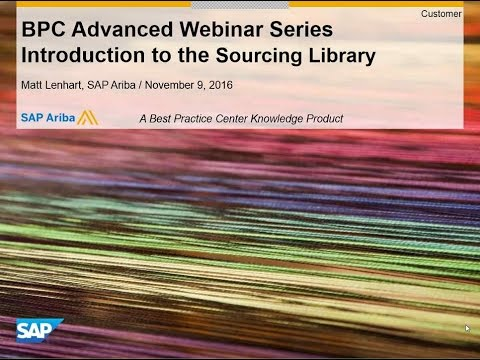 Introduction to the Sourcing Library