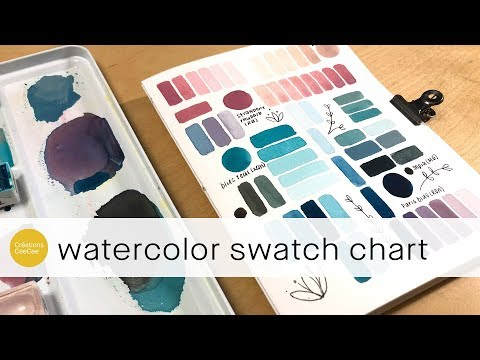 spark your creativity by creating a color mixing chart!