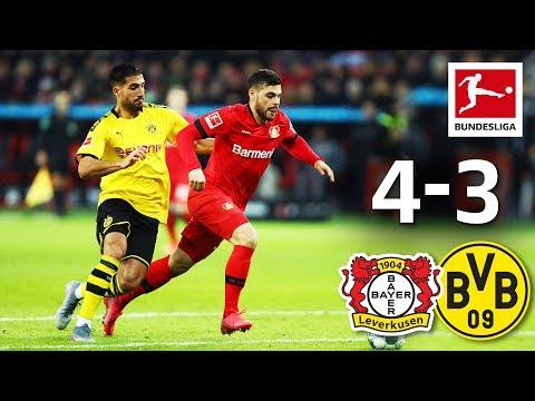 Leverkusen vs. Borussia Dortmund I 4-3 I Can's Debut Wonder Goal & Bayer's Great Comeback