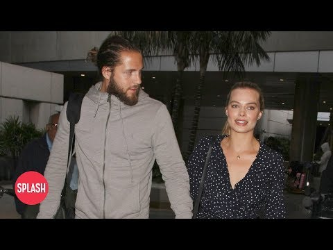 connectYoutube - Margot Robbie and Tom Ackerley Never Fight | Daily Celebrity News | Splash TV