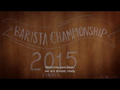 Starbucks Norway Barista Championship Final 2015