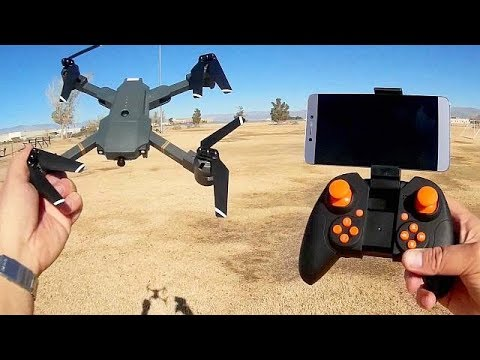 ATTOP XT 1 Folding FPV Drone Flight Test Review