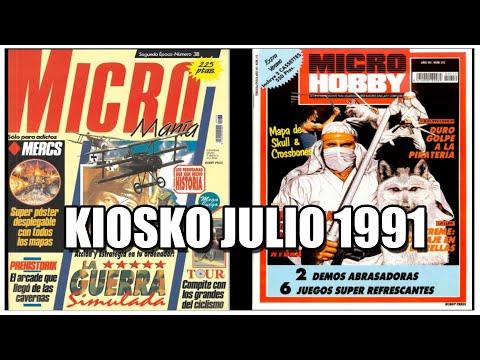 MICROMANIA JULIO MICROHOBBY EXTRA VERANO 1991