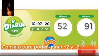 ???????? Números para hoy 10 de julio 2020 10-07-2020 La Diaria, Premiado2 y Pega 3 ????????