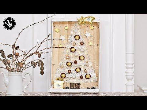 DIY - Geschenkidee   Weihnachtsdeko   Pralinen originell verpacken   PP