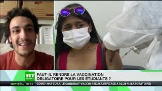Pour ou contre - Faut-il obliger les étudiants à se faire vacciner contre le Covid avant la rentrée