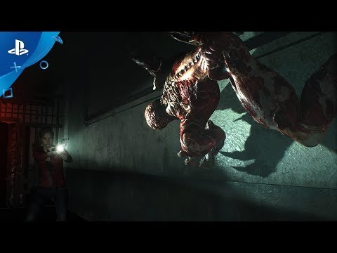 Resident Evil 2 Remake - Licker Battle Trailer | PS4