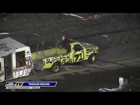 NIGHT OF DESTRUCTION: Trailer Race
