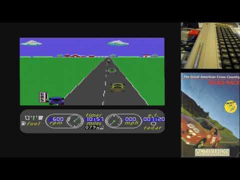 The Great American Cross-Country Road Race - Serie de Juegos Épicos en Commodore 64 real