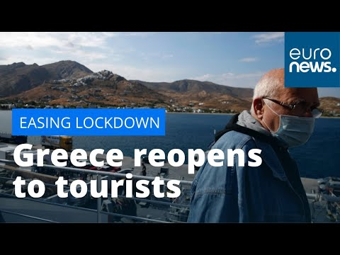 Greece reopens to tourists, with coronavirus tests on arrival