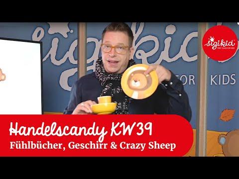Baby Fühlbücher, Kindergeschirr und Crazy Sheep
