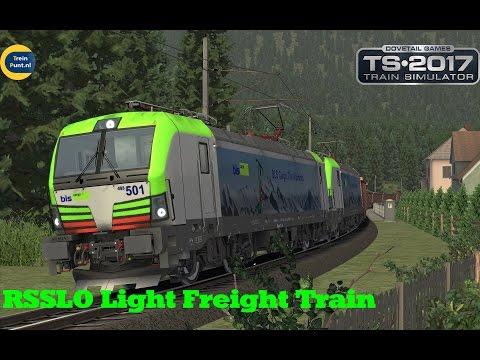 RSSLO Light Freight Train | RE 475 501 | Train Simulator 2017