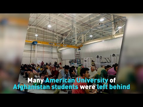Many American University of Afghanistan students were left behind