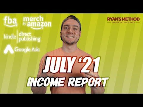 July 2021 Income Report — 23K PROFIT