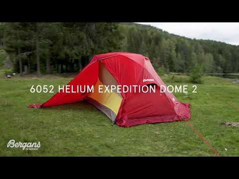 How to set up 6052 helium expedition dome 2 Tent