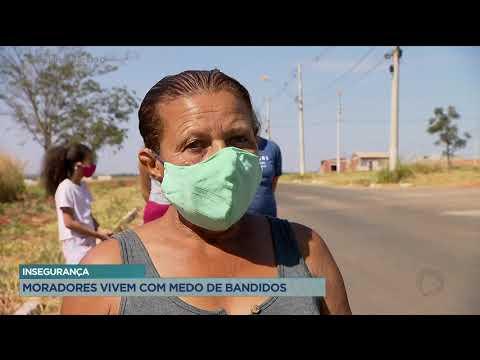 INSEGURANÇA: MORADORES VIVEM COM MEDO DE BANDIDOS.