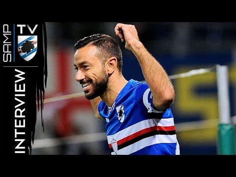 Sampdoria-Pescara, Quagliarella: «Fascia e gol, tutto bellissimo»