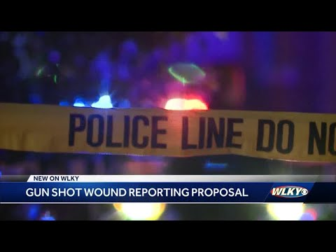 Proposal would require all gunshot wounds be reported to Metro Health Department